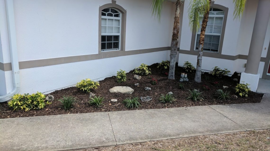 """Vero Lake Estates """"After"""" photo, country Green Landscape and Lawn service, Sebastian, Micco, Grant, South Melbourne and Palm Bay"""
